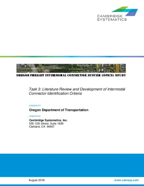 Title from PDF cover (viewed on December 28, 2016)., This archived document is maintained by the Oregon State Library as part of the Oregon Documents Depository Program. It is for informational purposes and may not be suitable for legal purposes., Includes bibliographical references., Mode of access: Internet from the Oregon Government Publications Collection., Text in English.