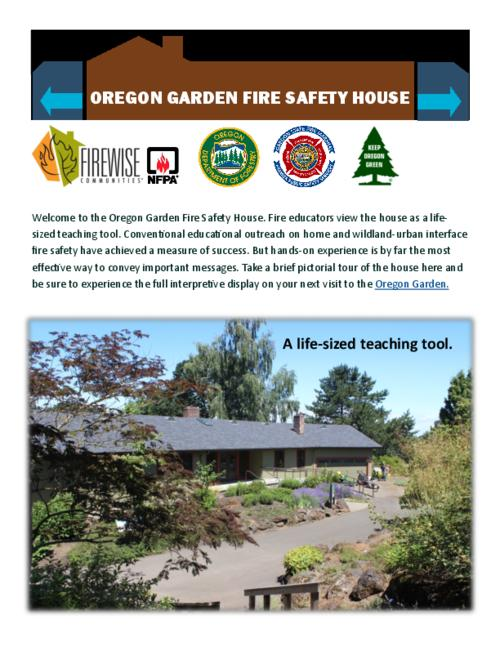 Title from PDF caption (viewed on January 4, 2017)., Logos: Firewise Communities; NFPA (National Fire Protection Association; Oregon Department of Forestry; Oregon State Fire Marshal; Keep Oregon Green., This archived document is maintained by the Oregon State Library as part of the Oregon Documents Depository Program. It is for informational purposes and may not be suitable for legal purposes., Mode of access: Internet from the Oregon Government Publications Collection., Text in English.