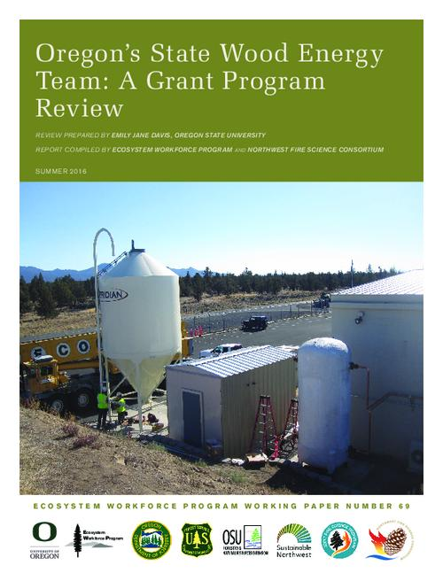 Title from PDF cover (viewed on January 10, 2017)., This archived document is maintained by the Oregon State Library as part of the Oregon Documents Depository Program. It is for informational purposes and may not be suitable for legal purposes., Funding provided by the United States Forest Service., Mode of access: Internet from the Oregon Documents Repository., Text in English.