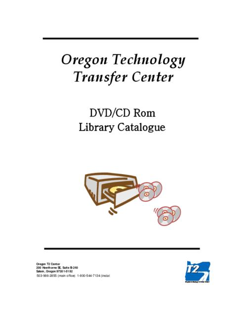 This archived document is maintained by the Oregon State Library as part of the Oregon Documents Depository Program.  It is for informational purposes and may not be suitable for legal purposes., Title from PDF title page (viewed on Oct. 26, 2006), Mode of access: Internet from the Oregon Government Publications Collection.