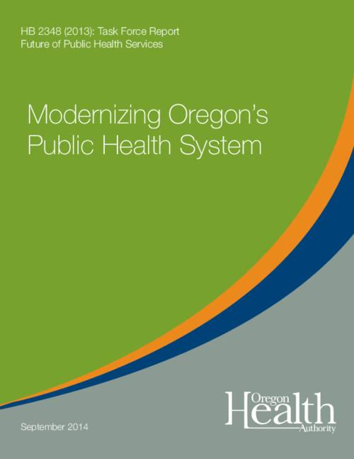 Title from PDF cover (viewed on February 8, 2017)., This archived document is maintained by the Oregon State Library as part of the Oregon Documents Depository Program. It is for informational purposes and may not be suitable for legal purposes., Includes bibliographical references., Mode of access: Internet from the Oregon Government Publications Collection., Text in English.