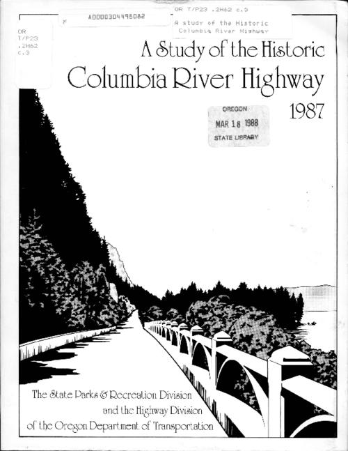 "This archived document is maintained by the Oregon State Library as part of the Oregon Documents Depository Program.  It is for informational purposes and may not be suitable for legal purposes., ""This document was prepared jointly by the Oregon State Parks and Recreation Division and the Oregon State Highway Division...""--Page following title page., ""November 1987."", Bibliography: p. 139-140., Mode of access: Internet from the Oregon Government Publications Collection."