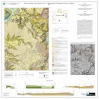 geologic map of the oregon city 7 5 quadrangle clackamas county