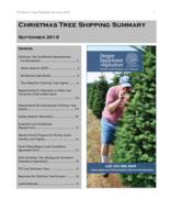 Christmas tree shipping summary, Pitch and needle, Pitch & needle