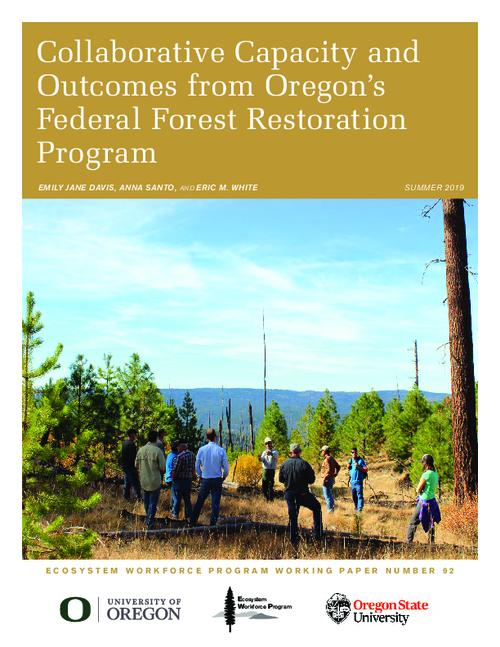 Title from PDF cover (viewed on July 3, 2019)., This archived document is maintained by the Oregon State Library as part of the Oregon Documents Depository Program. It is for informational purposes and may not be suitable for legal purposes., Includes bibliographical references., Funding for this research was made possible by the Oregon Department of Forestry's Federal Forest Restoration Program., Mode of access: Internet from the Oregon Government Publications Collection., Text in English.