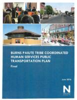 Burns Paiute tribe coordinated human services public transportation plan, Coordinated...