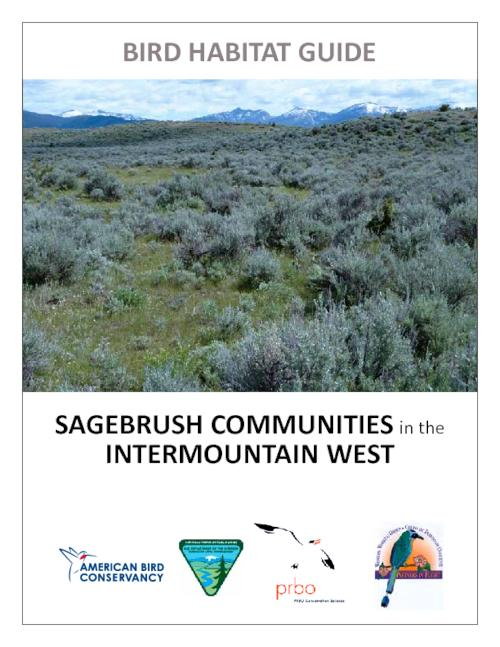 Title from PDF cover (viewed on February 28, 2017)., Logos: American Bird Conservancy; U.S. Bureau of Land Management; PRBO; Western Working Group., This archived document is maintained by the Oregon State Library as part of the Oregon Documents Depository Program. It is for informational purposes and may not be suitable for legal purposes., Mode of access: Internet from the Oregon Government Publications Collection., Text in English.