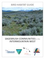 Bird habitat guide: sagebrush communities in the intermountain west, Sagebrush...