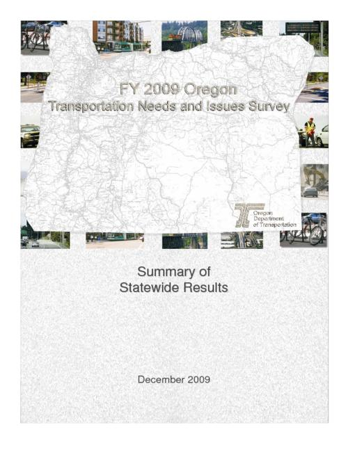 "This archived document is maintained by the Oregon State Library as part of the Oregon Documents Depository Program.  It is for informational purposes and may not be suitable for legal purposes., OrDocs shipping list 2010-01, ""December 2009."", ""Report no. FHWA-OR-PR-09-10""--Technical report documentation page, Includes bibliographical references (p. 29), SPR 043 RS 500-160, Mode of access: Internet from the Oregon Government Publications Collection."