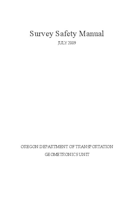 This archived document is maintained by the Oregon State Library as part of the Oregon Documents Depository Program.  It is for informational purposes and may not be suitable for legal purposes., Title from PDF cover (viewed on September 10, 2015)., Mode of access: Internet from the Oregon Government Publications Collection., Text in English.
