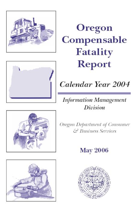 Oregon Compensable Fatality Report Calendar Year 2004 Oregon