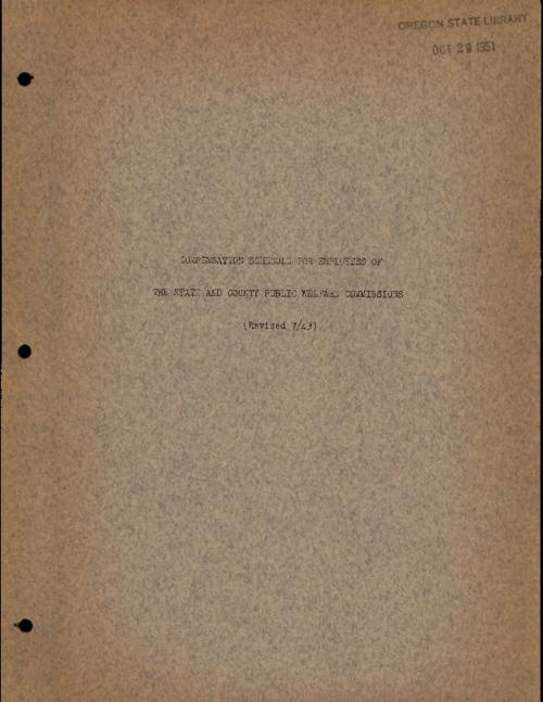 Mimeographed., Title from PDF cover (viewed on April 11, 2017)., This archived document is maintained by the Oregon State Library as part of the Oregon Documents Depository Program. It is for informational purposes and may not be suitable for legal purposes., Mode of access: Internet from the Oregon Government Publications Collection., Text in English.