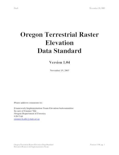 "Title from PDF cover (viewed on April 13, 2017)., ""Draft""--Running header., This archived document is maintained by the Oregon State Library as part of the Oregon Documents Depository Program. It is for informational purposes and may not be suitable for legal purposes., Mode of access: Internet from the Oregon Government Publications Collection., Text in English."