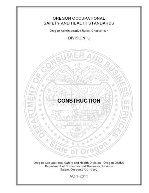 "Title from PDF cover (viewed on April 18, 2017)., ""AO 1-2011."", This archived document is maintained by the Oregon State Library as part of the Oregon Documents Depository Program. It is for informational purposes and may not be suitable for legal purposes., Mode of access: Internet from the Oregon Government Publications Collection., Text in English."