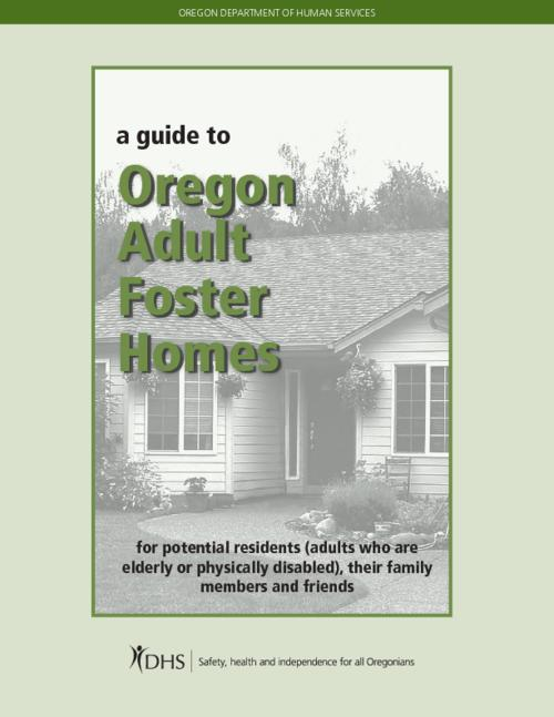 "Title from PDF cover (viewed on April 21, 2017)., ""DHS 9033 (rev. 7/2014)""--Back cover., This archived document is maintained by the Oregon State Library as part of the Oregon Documents Depository Program. It is for informational purposes and may not be suitable for legal purposes., Mode of access: Internet from the Oregon Government Publications Collection., Text in English."
