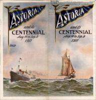 Astoria and its centennial, Aug. 10 to Sep. 9, 1911, Astoria centennial