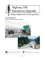 Highway 199 expressway upgrade: supplemental environmental assessment, Highway...