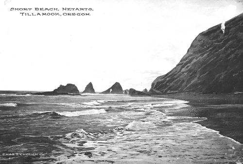 Short Beach, Courtesy of Oregon State Library