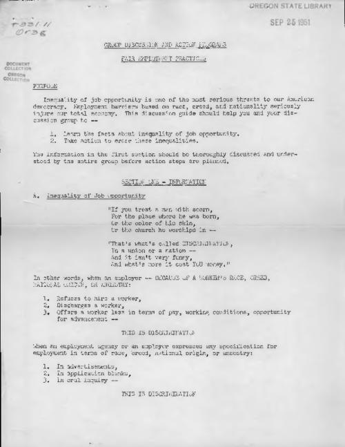Mimeographed., Title from PDF caption (viewed on May 16, 2017)., This archived document is maintained by the State Library of Oregon as part of the Oregon Documents Depository Program. It is for informational purposes and may not be suitable for legal purposes., Mode of access: Internet from the Oregon Government Publications Collection., Text in English.