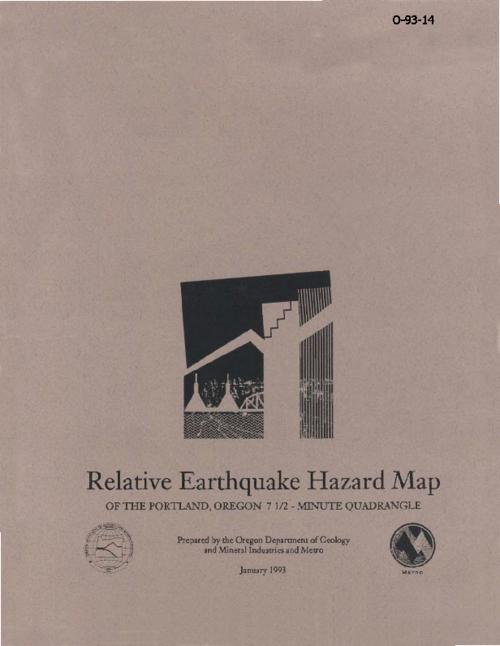 "This archived document is maintained by the Oregon State Library as part of the Oregon Documents Depository Program.  It is for informational purposes and may not be suitable for legal purposes., ""USGS award number 14-08-0001-G2132"", Booklet title: Relative earthquake hazard map of the Portland, Oregon 7 1/2 - minute quadrangle, Includes note and location map, Includes bibliographical references (p. [1-2] of booklet), Mode of access: Internet from the Oregon Government Publications Collection., Text in English."