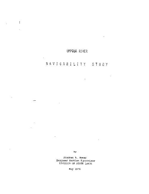 "This archived document is maintained by the Oregon State Library as part of the Oregon Documents Depository Program.  It is for informational purposes and may not be suitable for legal purposes., ""May 1976."", Includes bibliographical references, Mode of access: Internet from the Oregon Government Publications Collection."