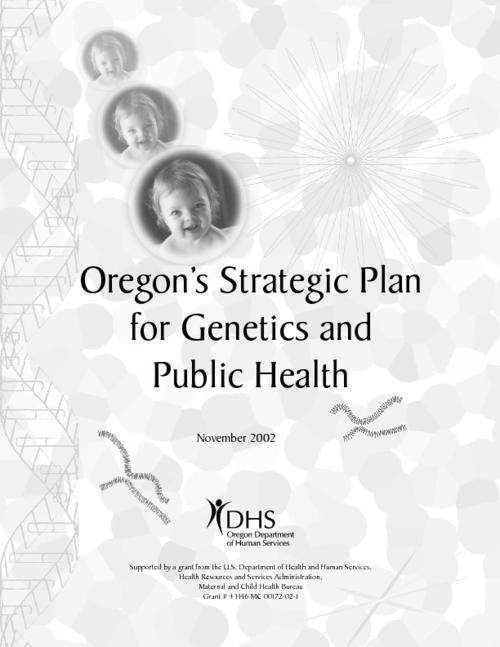 "This archived document is maintained by the Oregon State Library as part of the Oregon Documents Depository Program.  It is for informational purposes and may not be suitable for legal purposes., Title from cover, ""November 2002."", ""Supported by a grant from the U.S. Department of Health and Human services, Health Resources and Services Administration, Maternal and Child Health Bureau, grant # 4 H46 MC 00172-02-1."", OrDocs shipping list 2004-08, Mode of access: Internet from the Oregon Government Publications Collection."
