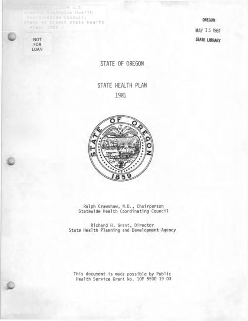 Title from PDF cover (viewed on August 8, 2019)., This archived document is maintained by the State Library of Oregon as part of the Oregon Documents Depository Program. It is for informational purposes and may not be suitable for legal purposes., Includes bibliographical references., Mode of access: Internet from the Oregon Government Publications Collection., Text in English.