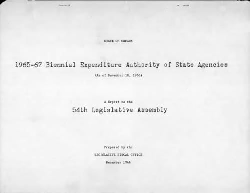 Title from PDF cover (viewed on May 22, 2017)., This archived document is maintained by the State Library of Oregon as part of the Oregon Documents Depository Program. It is for informational purposes and may not be suitable for legal purposes., Mode of access: Internet from the Oregon Government Publications Collection., Text in English.