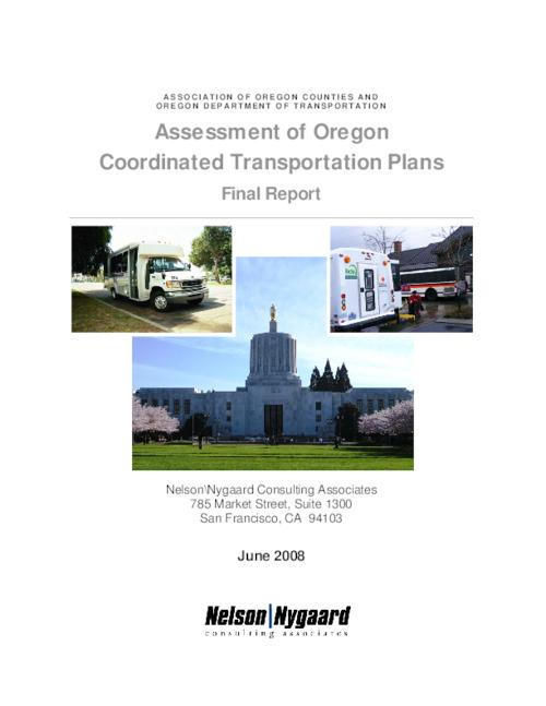"This archived document is maintained by the Oregon State Library as part of the Oregon Documents Depository Program.  It is for informational purposes and may not be suitable for legal purposes., Title from PDF cover (viewed on Apr. 26, 2011), ""June 2008."", ""This project was sponsored by the Association of Oregon Counties (AOC), on behalf of the Oregon Department of Transportation.""-- p. 1, Mode of access: Internet from the Oregon Government Publications Collection."