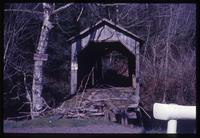 003-O1 Frank Cross covered bridge (Hebo, Three Rivers)