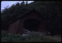 006-O4 Drift Creek covered bridge (Taft (Lincoln City), Upper Drift Creek)