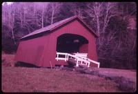 010-O4 Drift Creek covered bridge (Taft (Lincoln City), Upper Drift Creek)