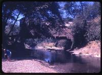 011-O4 Drift Creek covered bridge (Taft (Lincoln City), Upper Drift Creek)