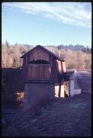 012-O5 Sam's Creek covered bridge (Siletz, Siletz River)