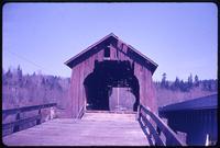 013-O5 Sam's Creek covered bridge (Siletz, Siletz River)
