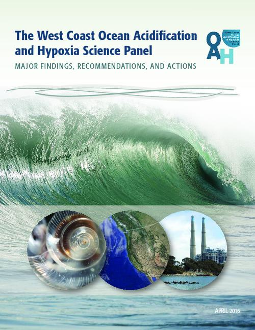 "Title from PDF cover (viewed on June 7, 2017)., ""This report was produced by the West Coast Ocean Acidification and Hypoxia Science Panel (the Panel), working in partnership with the California Ocean Science Trust ... Ocean Science Trust and the Oregon Institute for Natural Resources served as the link between the Panel and government decision-makers""--Page 2., Logos: OAH, West Coast Ocean Acidification and Hypoxia Science Panel; California Ocean Science Trust; California Ocean Protection Council; Institute for Natural Resources., This archived document is maintained by the State Library of Oregon as part of the Oregon Documents Depository Program. It is for informational purposes and may not be suitable for legal purposes., Mode of access: Internet from the Oregon Government Publications Collection., Text in English."