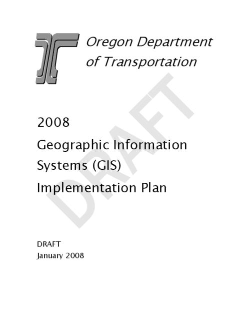 "This archived document is maintained by the Oregon State Library as part of the Oregon Documents Depository Program.  It is for informational purposes and may not be suitable for legal purposes., Title from PDF cover (viewed on June 6, 2014), ""Draft."", Converted from Word, Mode of access: Internet from the Oregon Government Publications Collection., Text in English"