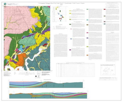 Preliminary geologic map of the eagle rock 75 quadrangle crook preliminary geologic map of the eagle rock 75 quadrangle crook county oregon gumiabroncs Image collections