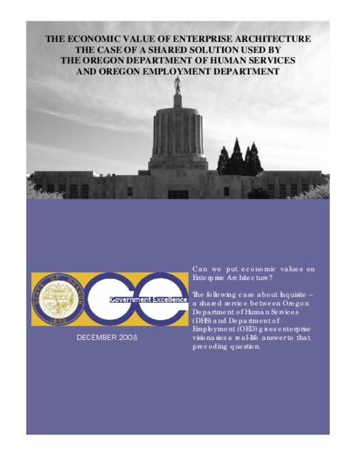 "This archived document is maintained by the Oregon State Library as part of the Oregon Documents Depository Program.  It is for informational purposes and may not be suitable for legal purposes., Title from PDF caption (viewed on Feb. 23, 2012), ""December 2008."", Mode of access: Internet from the Oregon Government Publications Collection."