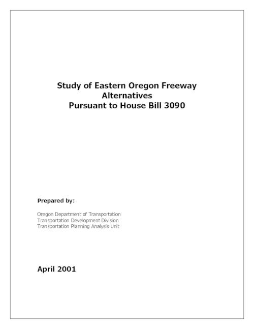 Title from PDF cover (viewed on July 18, 2017)., This archived document is maintained by the State Library of Oregon as part of the Oregon Documents Depository Program. It is for informational purposes and may not be suitable for legal purposes., Mode of access: Internet from the Oregon Government Publications Collection., Text in English.