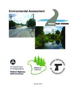 Environmental assessment, Weaver Road extension, Weaver Road extension environmental...