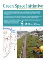 Green space initiative: bringing trees to the I-205 multi-use path, Bringing...