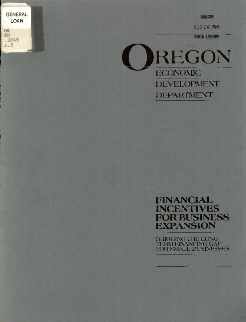 Title from PDF title page (viewed on August 17, 2017)., This archived document is maintained by the State Library of Oregon as part of the Oregon Documents Depository Program. It is for informational purposes and may not be suitable for legal purposes., Mode of access: Internet from the Oregon Government Publications Collection., Text in English.