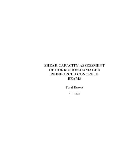 "This archived document is maintained by the Oregon State Library as part of the Oregon Documents Depository Program.  It is for informational purposes and may not be suitable for legal purposes., ""December 2003."", ""Final report, SPR 326""--Cover, ""Report No. FHWA-OR-RD-04-06""--Documentation page, OrDocs shipping list 2004-07, Includes bibliographical references (p. 75-78), Performed in association with the Federal Highway Administration under contract no. SPR 326, Mode of access: Internet from the Oregon Government Publications Collection., Final report"