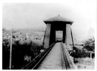 Brownsville covered railroad bridge