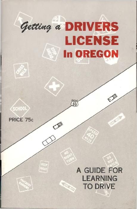 This publication is one of the first driving training manuals in Oregon to feature diagrams. The author distributed these booklets statewide to book stores, grocery stores, and any outlet that would carry them, to assist students experiencing difficulty in reading the Oregon Drivers' Manual.--Notes from donor., Title from PDF title page (viewed on August 21, 2017)., This archived document is maintained by the State Library of Oregon as part of the Oregon Documents Depository Program. It is for informational purposes and may not be suitable for legal purposes., Mode of access: Internet from the Oregon Government Publications Collection., Text in English.