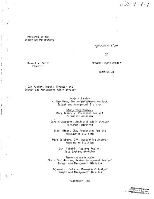 prepared by the Executive Department., Title from PDF title page (viewed on September 4, 2020)., This archived document is maintained by the State Library of Oregon as part of the Oregon Documents Depository Program. It is for informational purposes and may not be suitable for legal purposes., Includes bibliographical references., Mode of access: Internet from the Oregon Government Publications Collection., Text in English.
