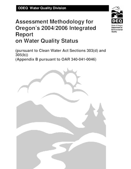 Title from PDF cover (viewed on September 14, 2020)., This archived document is maintained by the State Library of Oregon as part of the Oregon Documents Depository Program. It is for informational purposes and may not be suitable for legal purposes., Includes bibliographical references., Mode of access: Internet from the Oregon Government Publications Collection., Text in English.