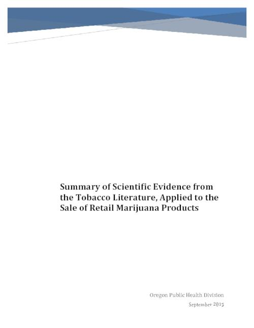 Title from PDF caption (viewed on August 30, 2017)., This archived document is maintained by the State Library of Oregon as part of the Oregon Documents Depository Program. It is for informational purposes and may not be suitable for legal purposes., Includes bibliographical references., Mode of access: Internet from the Oregon Government Publications Collection., Text in English.