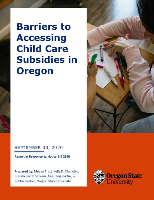 prepared by: Megan Pratt, Kelly D. Chandler, Brenda Barrett-Rivera, Asia Thogmartin, & Bobbie Weber, Oregon State University., Title from PDF cover (viewed on October 19, 2020)., This archived document is maintained by the State Library of Oregon as part of the Oregon Documents Depository Program. It is for informational purposes and may not be suitable for legal purposes., Includes bibliographical references., Mode of access: Internet from the Oregon Government Publications Collection., Text in English.